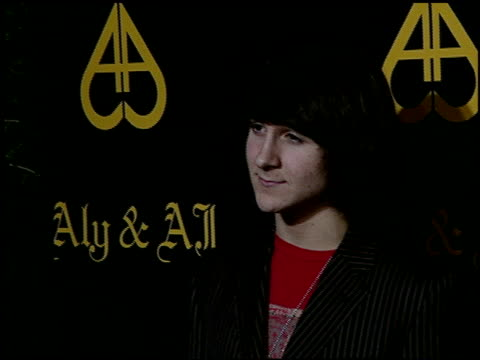 Mitchel Musso at the Sisters Aly AJ Celebrate Their Birthdays with at Les Deux in Hollywood California on May 14 2007