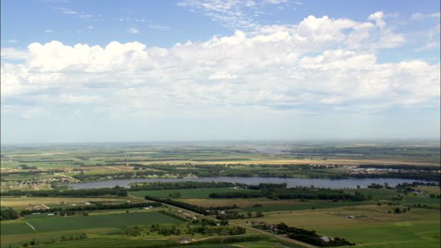mitchell  - aerial view - south dakota, davison county, united states - south dakota stock videos & royalty-free footage