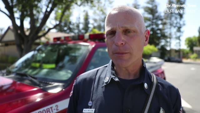 Mitchell Matlow with San Jose Fire Department on camera SAN JOSE — A summer afternoon at a neighborhood swimming pool took a frightening turn...