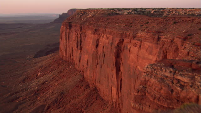 mitchell mesa and other rock formations - mesa stock videos and b-roll footage