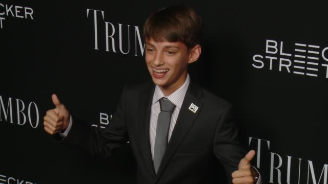 mitchell zakoc at the trumbo los angeles premiere at the academy of motion picture arts and sciences on october 27 2015 in beverly hills california - academy of motion picture arts and sciences stock-videos und b-roll-filmmaterial