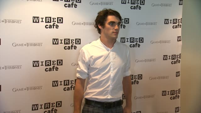mitte on breaking bad afterlife wired cafe @ comiccon day 2 at omni hotel on july 26 2014 in san diego california - afterlife stock videos and b-roll footage