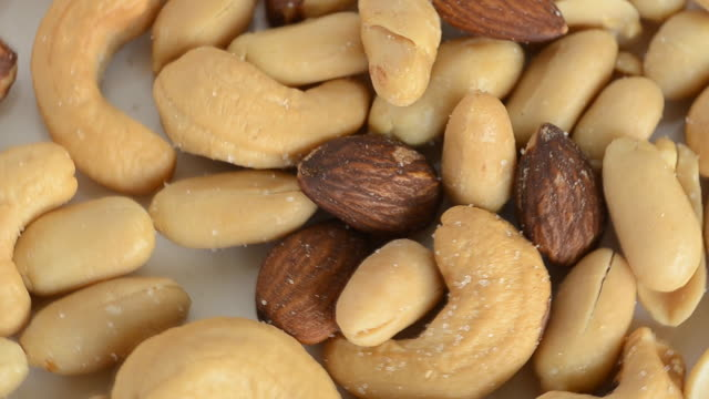 mix snack - nut food stock videos & royalty-free footage