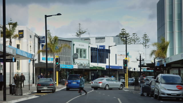 Mixed Buildings in Napier