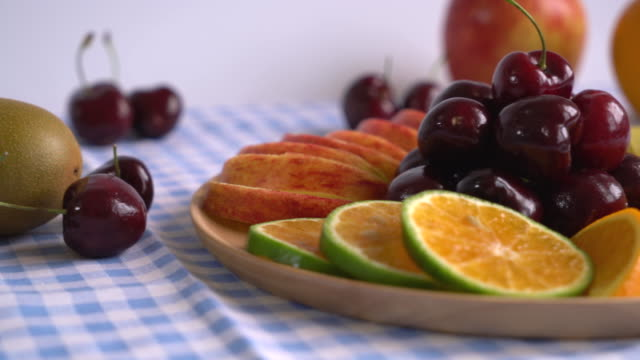 mixed fruit on the table