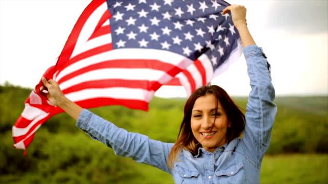 Mixed race American woman