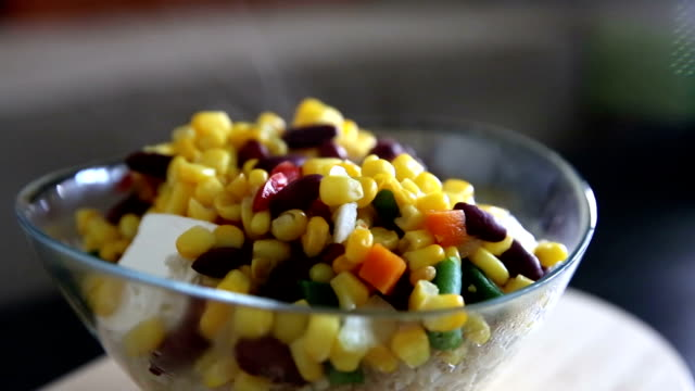 mixed vegetables - spinning point of view stock videos & royalty-free footage