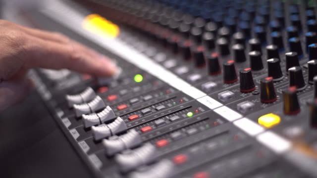 mixer console - rack stock videos & royalty-free footage