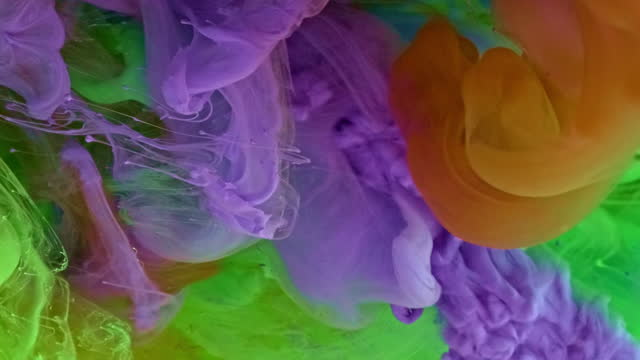 mixing colors - curlicue stock videos & royalty-free footage
