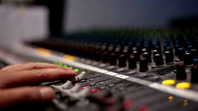mixing console - mixing stock videos & royalty-free footage