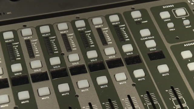 cu, a mixing module, tokyo, japan - fade out stock videos & royalty-free footage