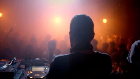 dj ミックスミュージッククラブ - ディスク点の映像素材/bロール