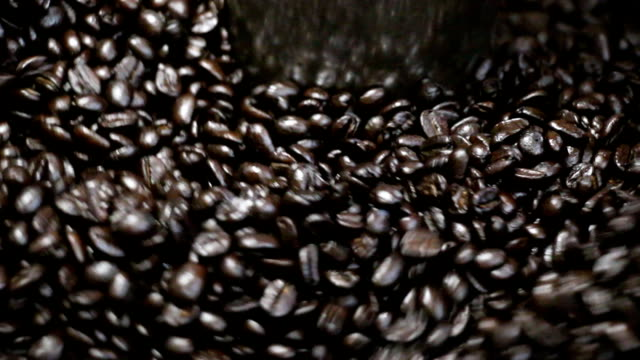 mixing roasted coffee - coffee variation stock videos & royalty-free footage