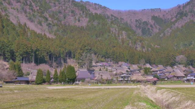 miyama, japanese old village - miyama kyoto stock videos & royalty-free footage