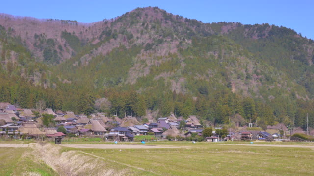 miyama, japanese old village - indigenous culture stock videos & royalty-free footage