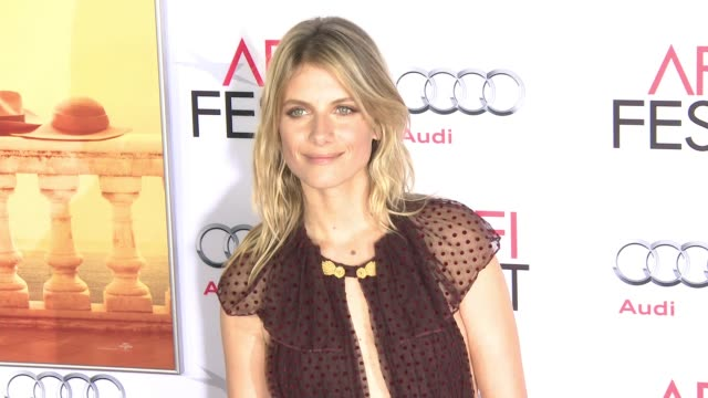 """stockvideo's en b-roll-footage met mélanie laurent at """"by the sea"""" world premiere gala screening - afi fest 2015 at tcl chinese theatre on november 05, 2015 in hollywood, california. - filmscreening"""