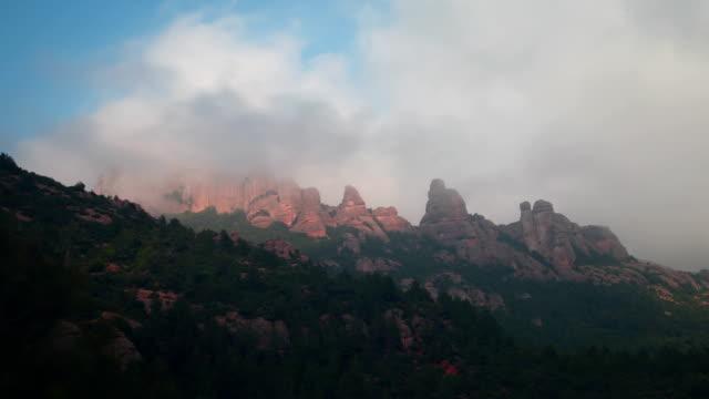Mlontserrat Berg Ansichten Zeitraffer