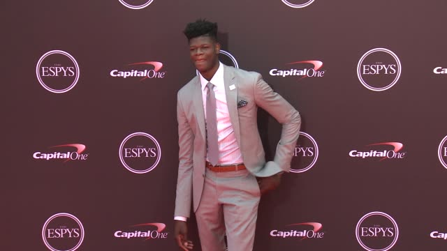 vídeos de stock, filmes e b-roll de mo bamba at the 2018 espys at microsoft theater on july 18 2018 in los angeles california - espy awards