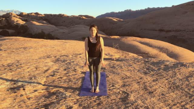 Moab Utah Outdoor Yoga