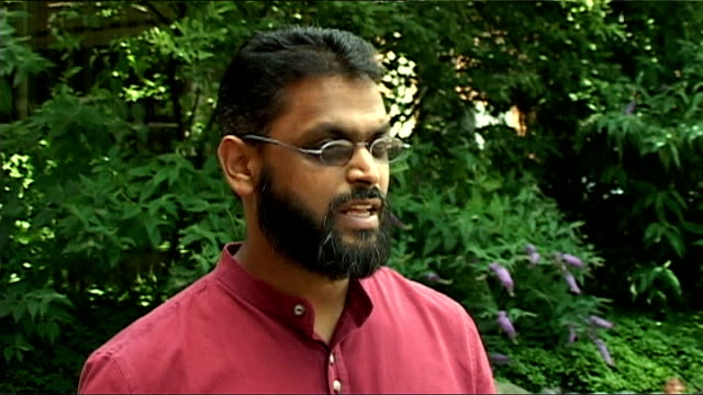 moazzam begg interview sot - moazzam begg stock videos & royalty-free footage
