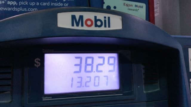 mobil gas station - meter instrument of measurement stock videos & royalty-free footage
