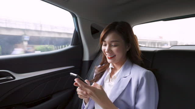 mobile access in car - taxi stock videos & royalty-free footage