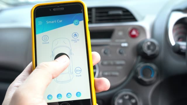 Mobile application for smart car and remote car control