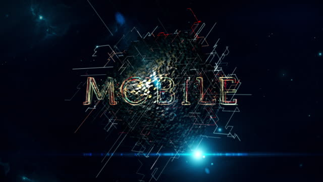 mobile cube - mobile app stock videos & royalty-free footage
