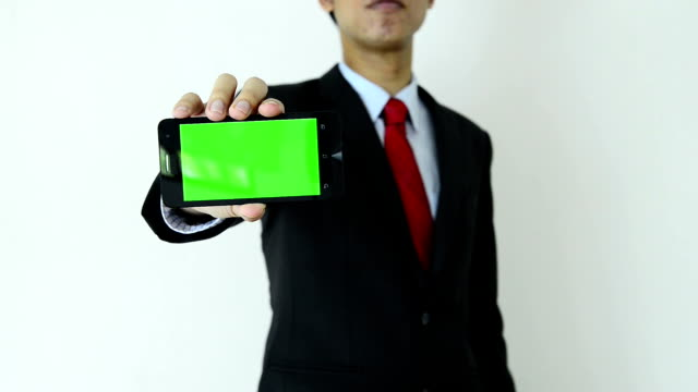mobile device green screen (hd) - electronic organiser stock videos & royalty-free footage