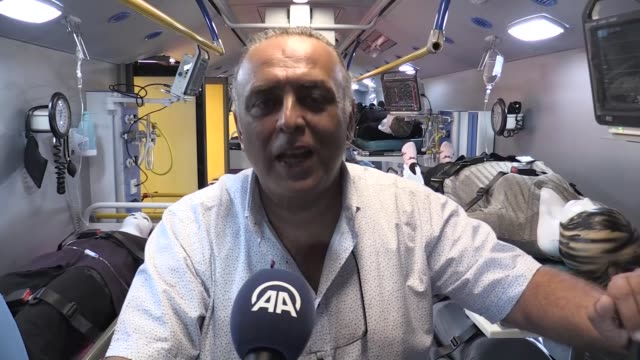 a mobile hospital set up in a bus has been introduced in turkey's southwestern resort town of bodrum fabricated and designed by turkish engineers and... - mugla province stock videos & royalty-free footage