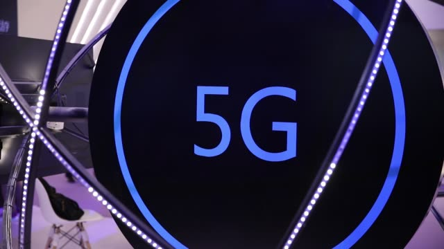 5g mobile network - number 5 stock videos & royalty-free footage