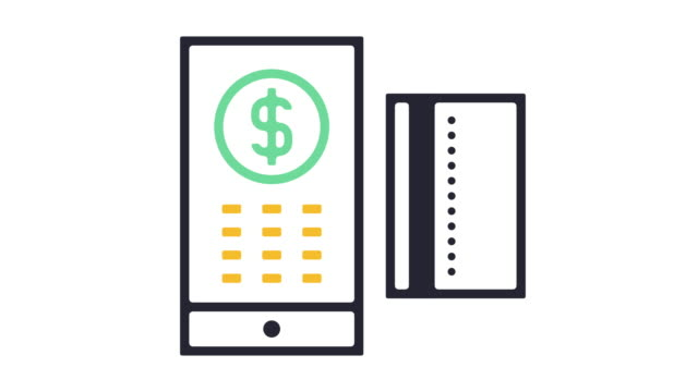 Mobile Payment Icon Animation