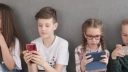 Mobile phone addicted children