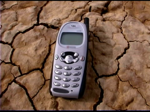 mobile phone in desert - durability stock videos & royalty-free footage