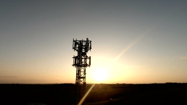 mobile tower - part 3/3 - mast stock videos & royalty-free footage
