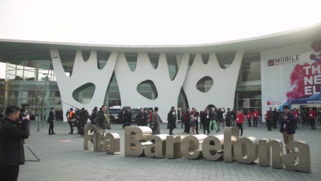 Mobile World Congress Barcelona letters