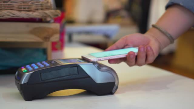 Mobile/kontaktloses bezahlen, Close-up