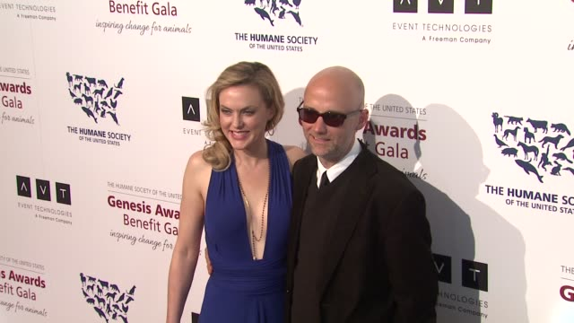 moby at 2013 genesis awards benefit gala presented by the humane society of the united states on 3/23/13 in los angeles, ca . - モービー点の映像素材/bロール