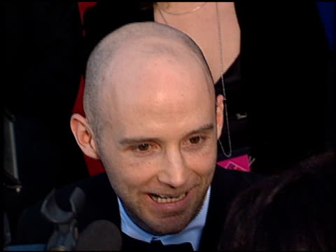 moby at the 2001 grammy awards at staples in los angeles, california on february 21, 2001. - モービー点の映像素材/bロール