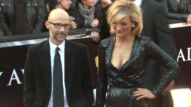 moby at the 83rd annual academy awards - arrivals at hollywood ca. - モービー点の映像素材/bロール