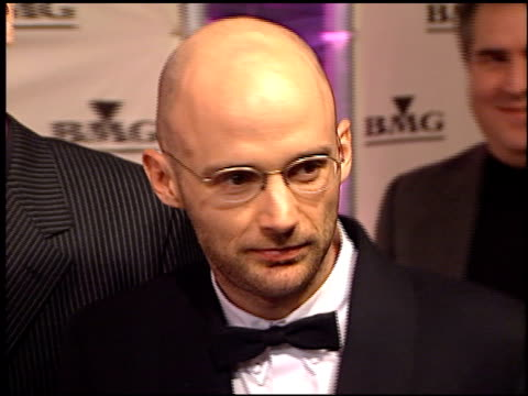 moby at the bmg grammy awards party on february 23, 2000. - モービー点の映像素材/bロール