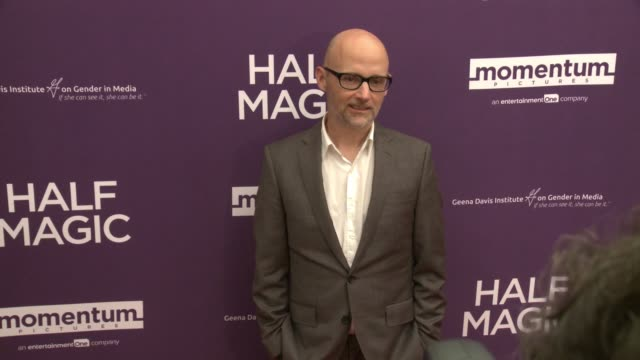 """moby at the """"half magic"""" los angeles screening at the london west hollywood on february 21, 2018 in west hollywood, california. - モービー点の映像素材/bロール"""