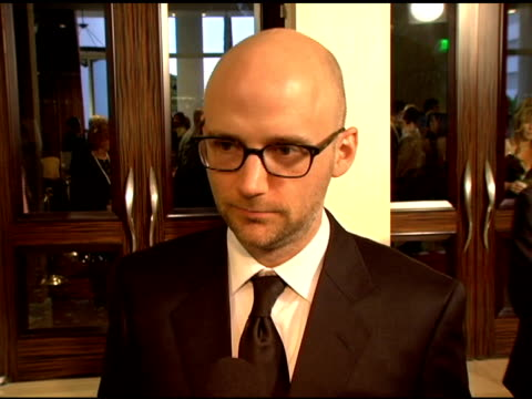 Moby on the horses he spent time with on being vegan and on being an animal activist at the Twentieth Anniversary Genesis Awards at the Beverly...