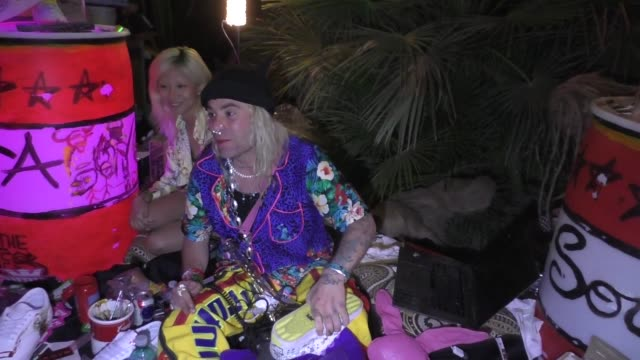 Mod Sun at Coachella in Indio in Celebrity Sightings in Los Angeles