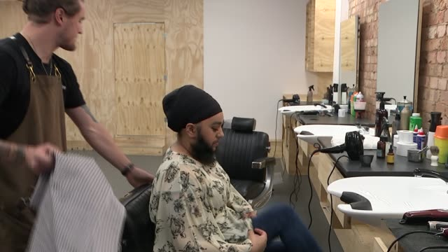 model and antibullying campaigner harnaam kaur talks of embracing her beard england london the nomad barber shop int model and antibullying... - female reproductive organ stock videos & royalty-free footage
