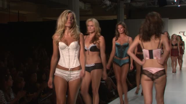 A Model at the Ultimo Presents its Spring Summer 2009 Line with Mel B at New York NY