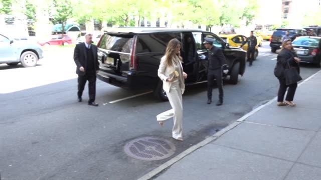 Model Gisele Bundchen is seen in the Upper East Side on May 9 2017 in New York City