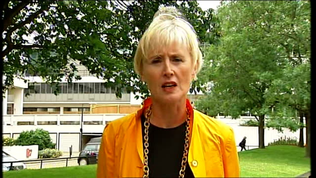 model health inquiry report published; england: ext baroness kingsmill interview sot - baroness stock videos & royalty-free footage