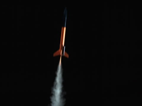 model rocket - artbeats stock-videos und b-roll-filmmaterial