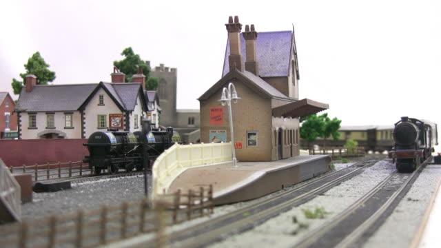 モデル鉄道 - レプリカ点の映像素材/bロール